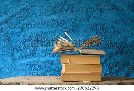 open book, literature,education,reading concept,free copy space