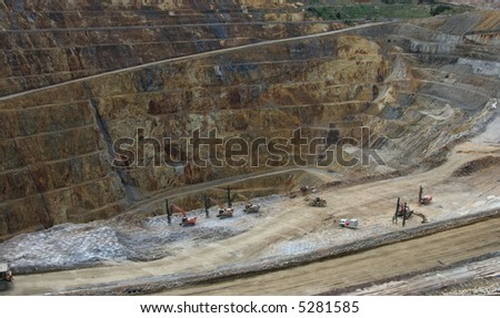 Open Cast Gold Mine