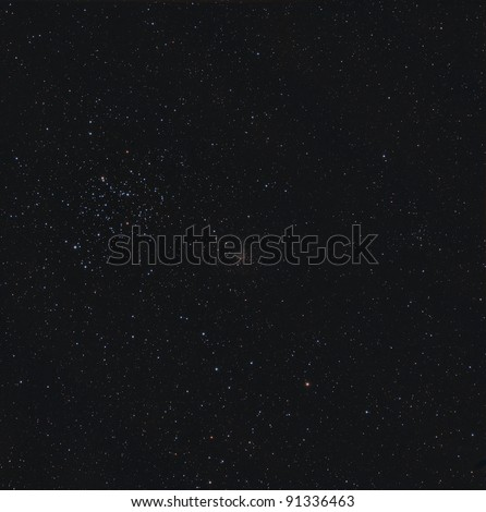 Open Clusters M35 and NGC 2158 in the Constellation Gemini