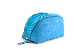 Open Colorful cosmetic bag