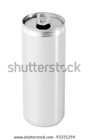 Open drink can from blank aluminum