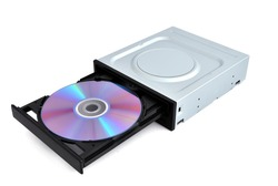 open dvd rom from a CD
