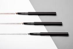 Open eyebrow pen color display
