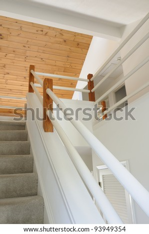 Open Foyer Staircase