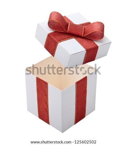 Open gift box