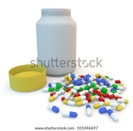 Open Medicine Bottle