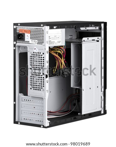 Open PC computer to install your hardware and accessories isolated