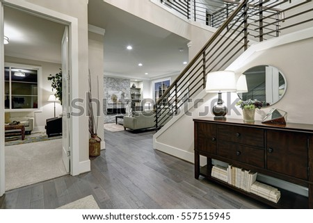 open plan entryway in new...