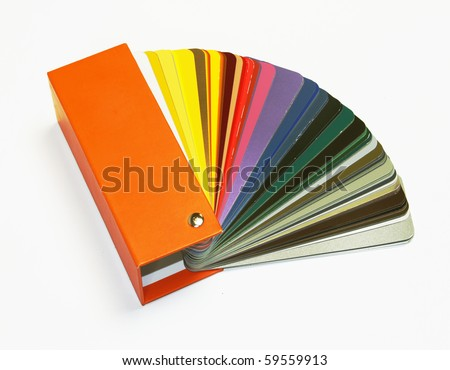 open RAL sample colors catalogue
