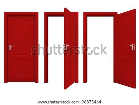 open red door