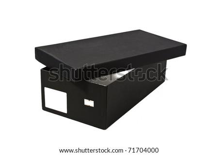Open shoe box