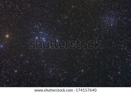 Open Star Clusters M46 and M47