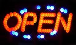 open, trade, night shop