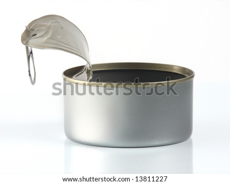 Opened Fish Can