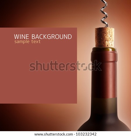 Opening a bottle of wine