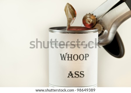 Opening A Can Of Whoop Ass 81
