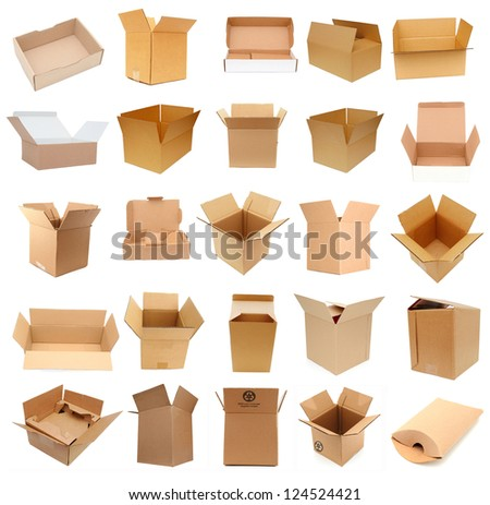 Opening of shipment carton boxes