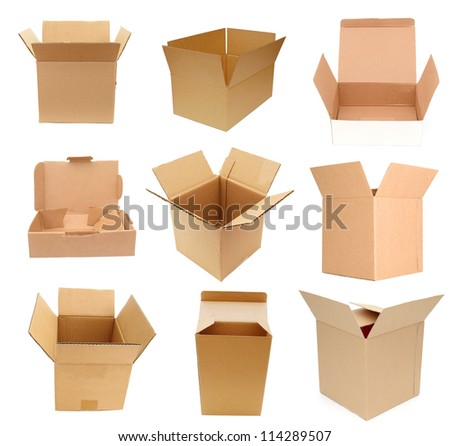 Opening of variety carton boxes