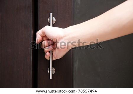 opening slide door