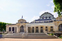 Opera famous building of the city of Vichy in France