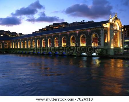 Opera on water, Geneva, Switzerland