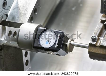 Operator setup tool and setting tool zero position of CNC turning machine before machining