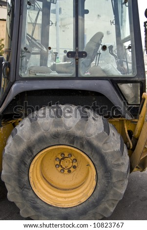 Operators cockpit for some heavy duty  construction equipment