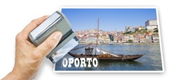 Oporto postcard concept image (Portugal - Europe)