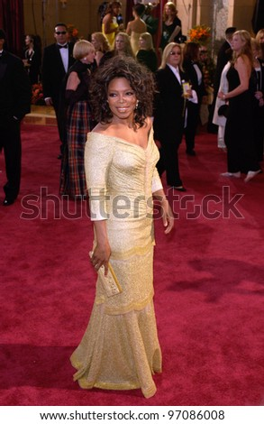 OPRAH WINFREY at the 77th Annual Academy Awards at the Kodak Theatre, Hollywood, CA February 27, 2005; Los Angeles, CA.  Paul Smith / Featureflash