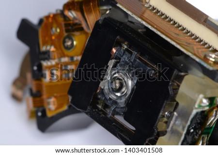 Optical disc laser reading lens #1403401508