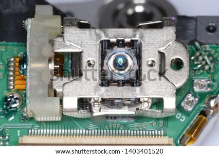 Optical disc laser reading lens #1403401520