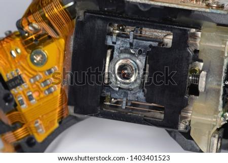Optical disc laser reading lens #1403401523