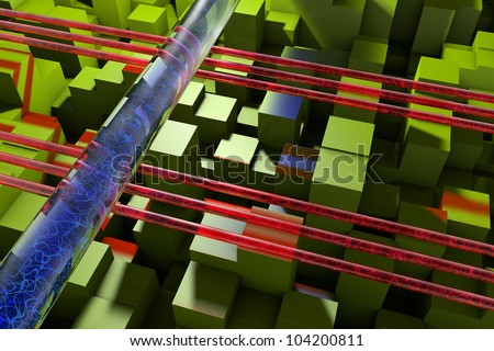 Optical fibers and microstructure