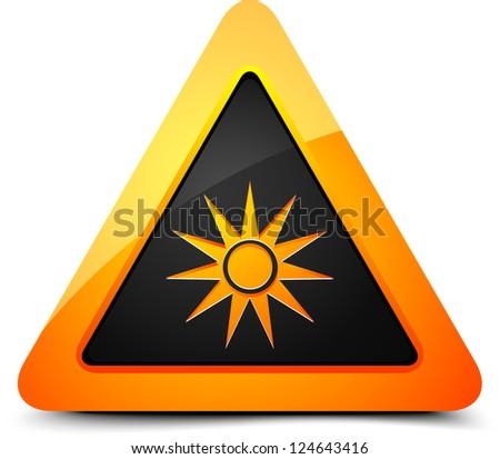 Optical hazard