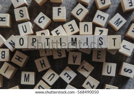 OPTIMIST word concept