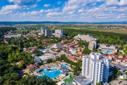 Oradea, Romania. Baile Felix thermal baths resort.