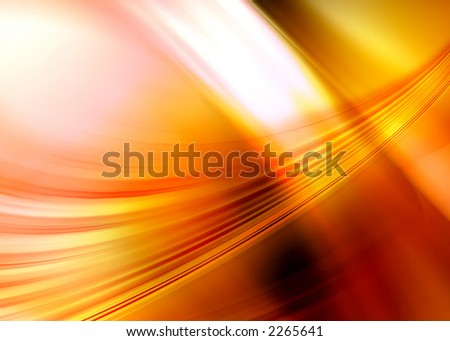orange abstract composition