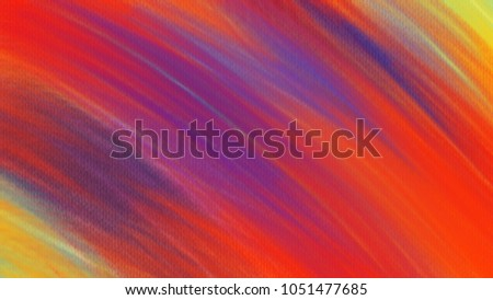 Orange Abstract oil painting on canvas background. wallpaper art design. Color texture for cover, book, fabric, fashion, decorate, printing media, card, banner, website.