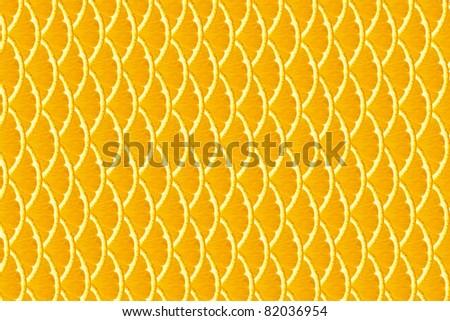 orange background from slices of oranges - stock photo
