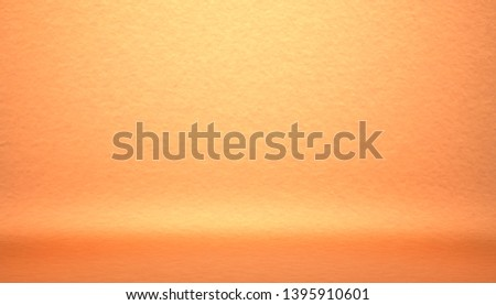 Orange Background studio portrait backdrops #1395910601