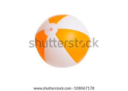 Orange Beach Ballr close up - stock photo