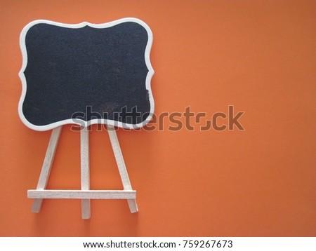 Orange Blackboard Education Template #759267673