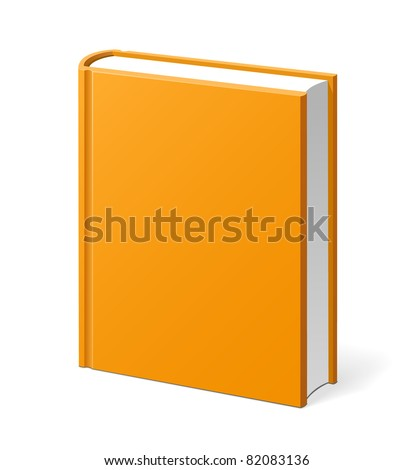 Orange book illustration