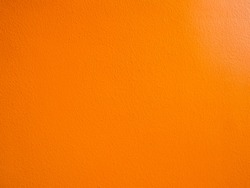 Orange cement wall for a background