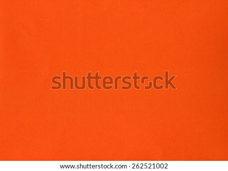 Orange colour paper useful as a background