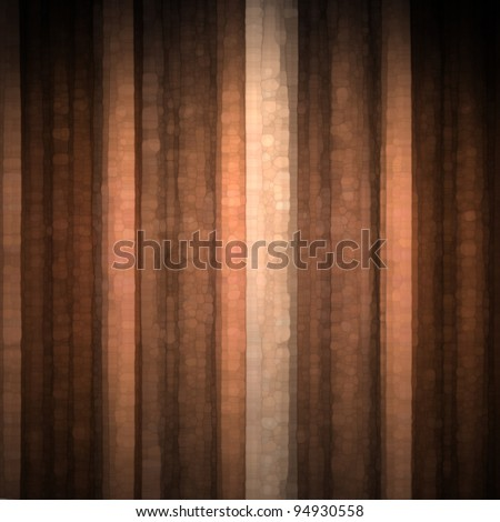 orange copper and pale peach abstract background with cool glass texture and vintage stripe layout design