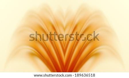 orange cross process fountain wave pattern shell pastel background