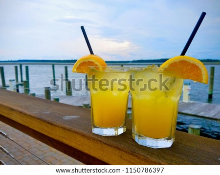 Orange Crushes on Kent Island #1150786397