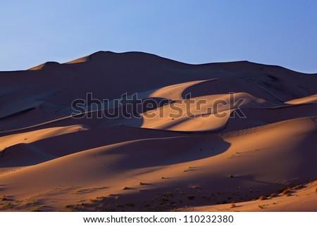 "Orange Dawn magnificent sand dunes of ""Eureka"""