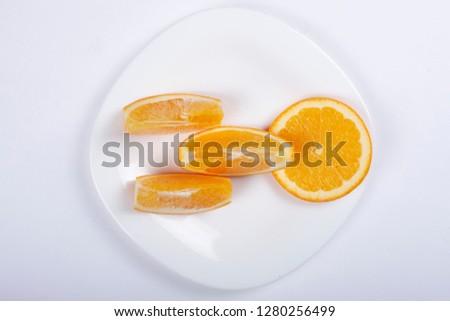 Stock Photo orange for kids